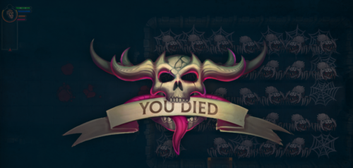 Ultimate ADOM: You died...