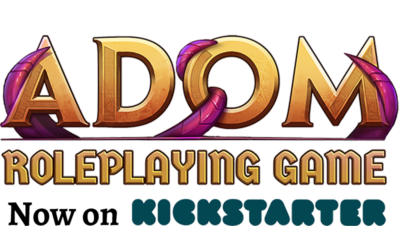 ADOM RPG Now Live on Kickstarter!